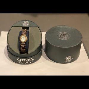 Woman's beautiful brand new citizen gold watch